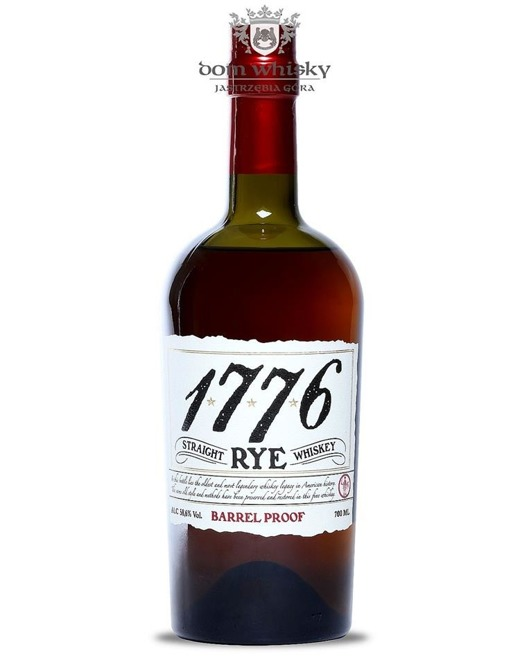 1776 James E. Pepper Straight Rye Barrel Proof / 58,6% / 0,7l