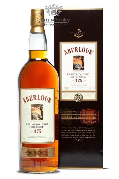 Aberlour 15-letni Double Cask / 40% / 1,0l