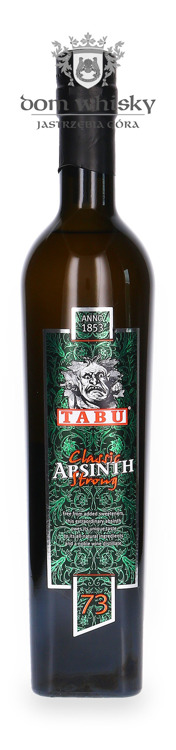 Absinth TABU classic STRONG / 73% / 0,5l