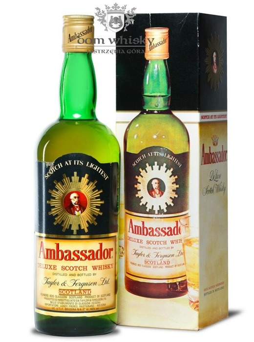 Ambassador Deluxe Scotch Whisky / 40% / 0,75l
