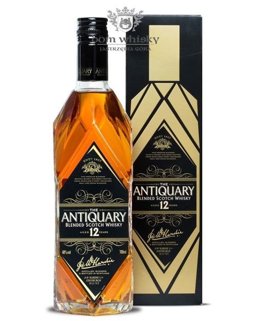 Antiquary 12 letni Black / 40% / 0,7l