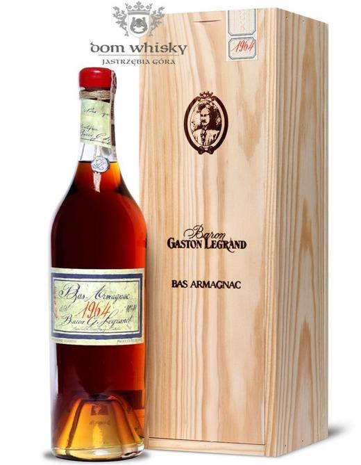 Armagnac Baron Gaston Legrand 1964 / 40% / 0,7l