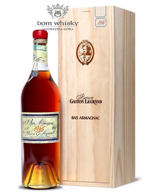 Armagnac Baron Gaston Legrand 1965 / 40% / 0,7l
