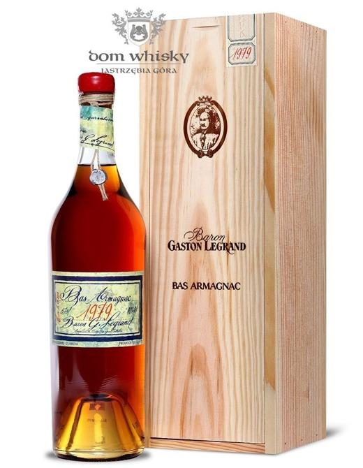 Armagnac Baron Gaston Legrand 1979 / 40% / 0,7l