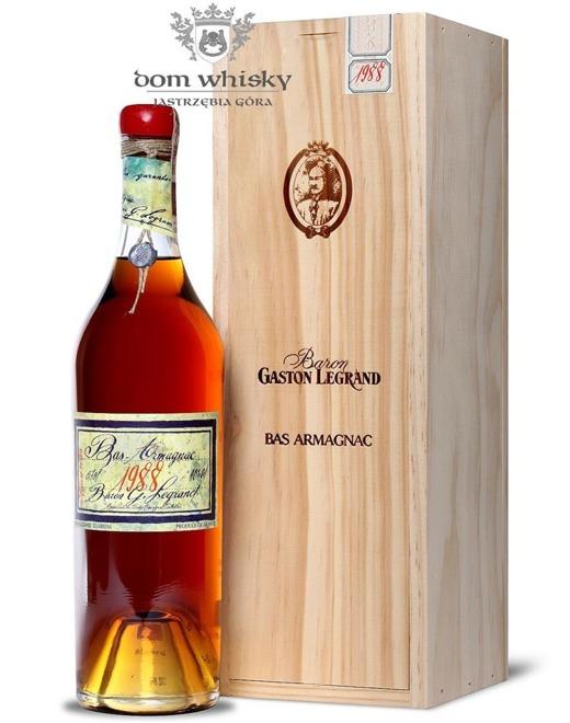 Armagnac Baron Gaston Legrand 1988 / 40% / 0,7l