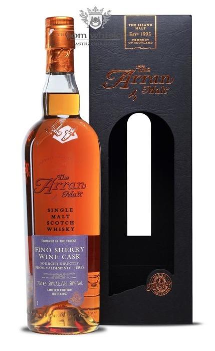 Arran Finished in Fino Sherry Wine Casks / 50 % / 0,7l
