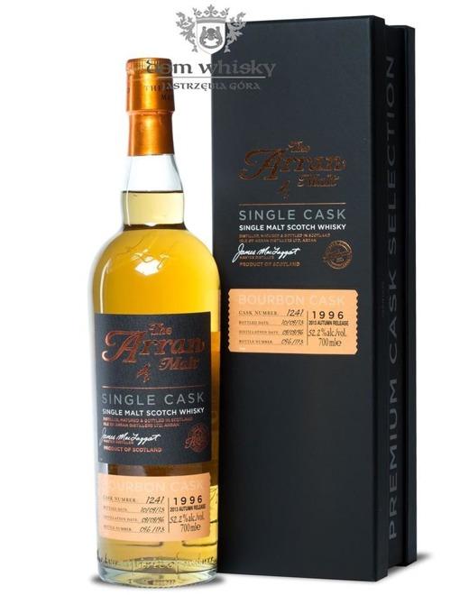 Arran Premium Cask Selection, Bourbon(D.1996, B.2013)52,2% /0,7l