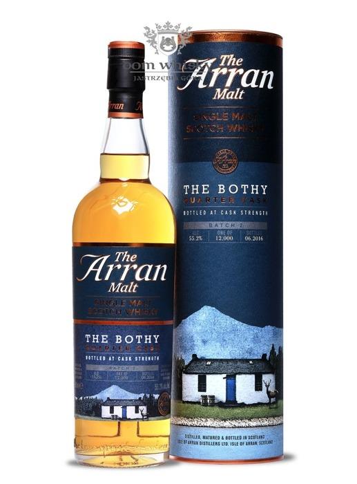 Arran The Bothy Quarter Cask Batch 2 / 55,2% / 0,7l