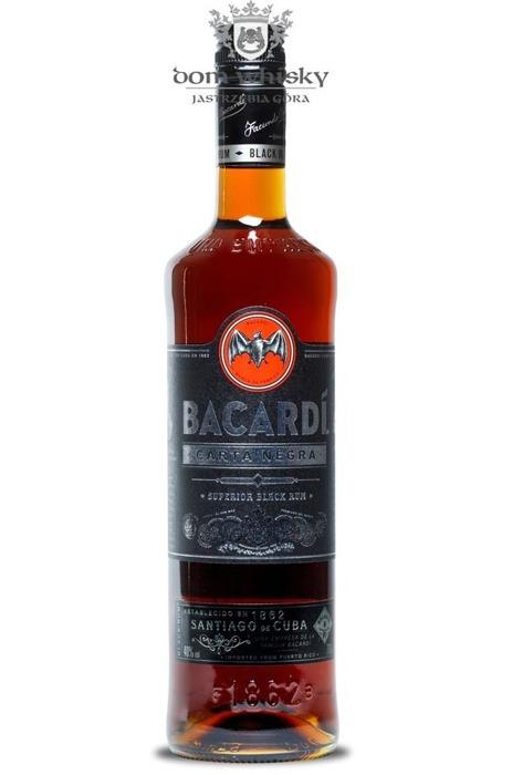 Bacardi Carta Negra / 40% / 0,7l