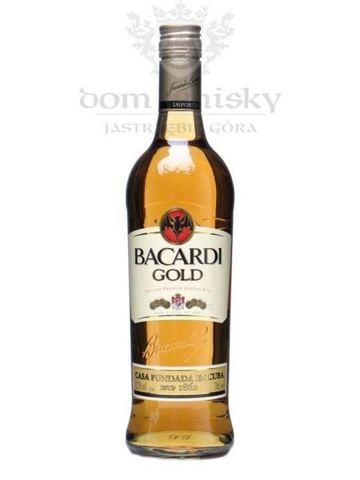 Bacardi Gold Rum / 37,5 / 0,7l