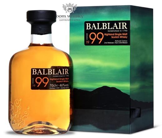 Balblair 1999 (Bottled 2015) 2nd Release / 46% / 0,7l