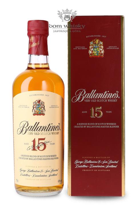 Ballantine's 15-letni / 43% / 0,75l