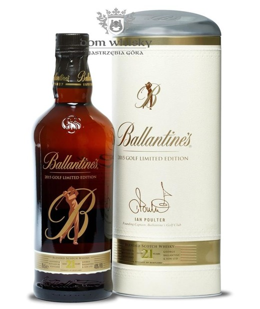 Ballantine's 21-letni 2015 Golf Limited Edition / 40% / 0,7l