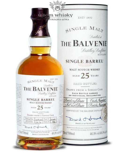 Balvenie 25-letni Single Barrel (D.1974, B.2000) / 46,9% / 0,7l