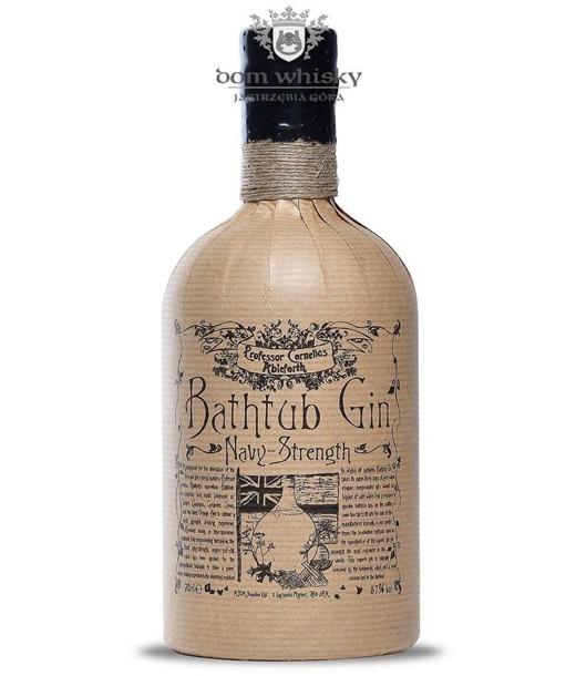 Bathtub Gin; Professor Cornelius Ampleforth's Navy Str./57%/0,7l