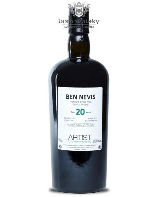 Ben Nevis 20-letni (D.1990, B. 2011) Artist # 003 / 60,8% / 0,7l