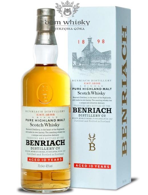 BenRiach 10-letni / Box / 43% / 0,7l