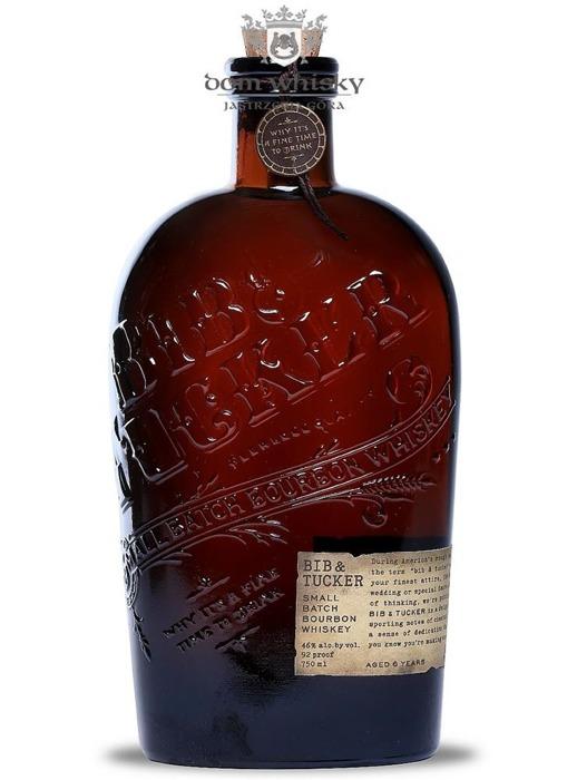Bib & Tucker 6-letni Small Batch Bourbon Whiskey / 46% / 0,75l