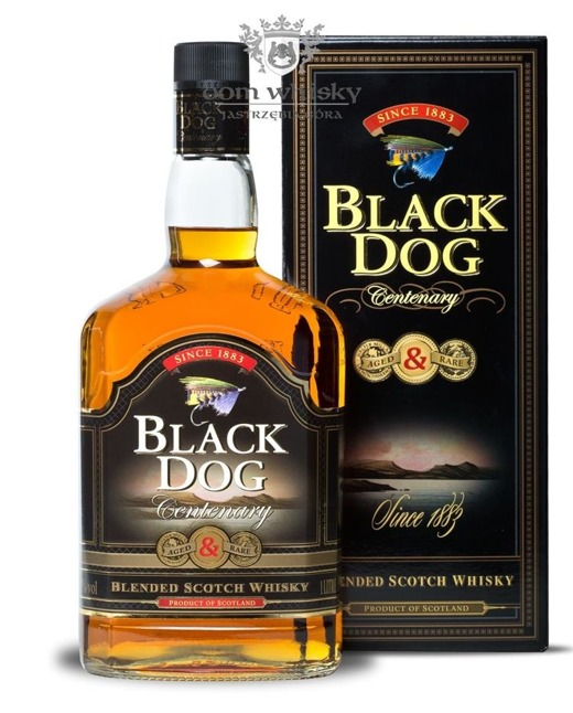 Black Dog Scotch Blended Whisky / 43% / 1,0l