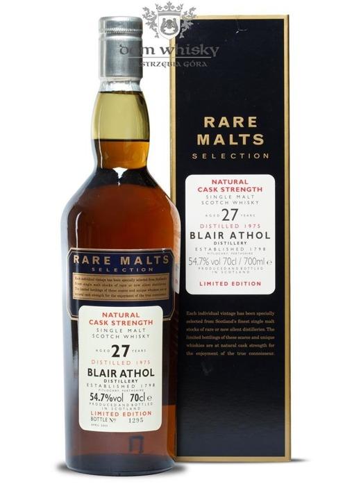 Blair Athol 27-letni (D.1975, B.2003) Rare Malts / 54,7% / 0,7l