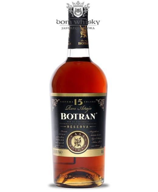 Botran Reserva Rum 15-letni (Guatemala) / 40% / 0,7l
