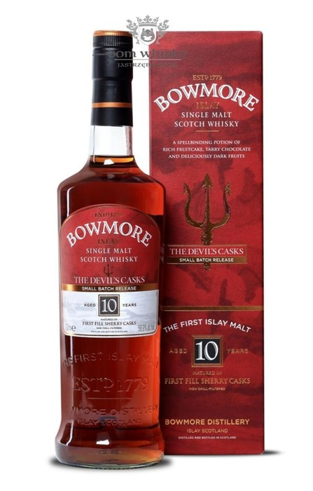 Bowmore The Devil's Casks, 10-letni (Batch No. 1) / 56,9% / 0,7l