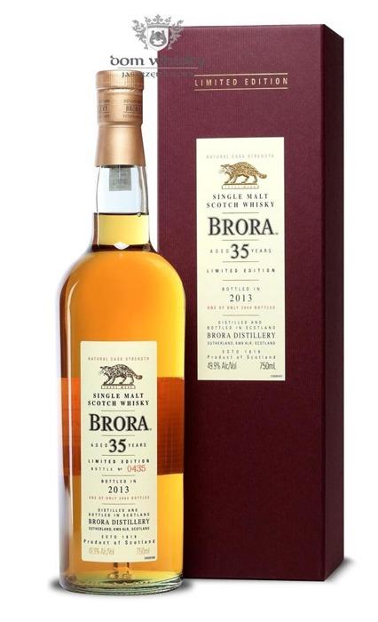 Brora 35-letnia (D.1977, B.2013) 12th Release / 49,9% / 0,75l