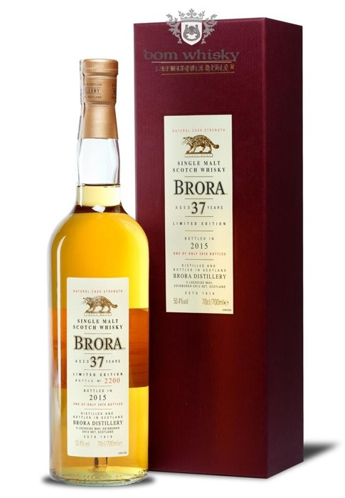 Brora 37-letnia (D.1977, B.2015) 14th Release / 50,4% / 0,7l