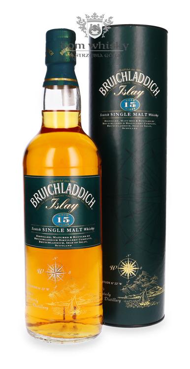 Bruichladdich 15-letni (Bottled 1990s) / 43% / 0,7 l