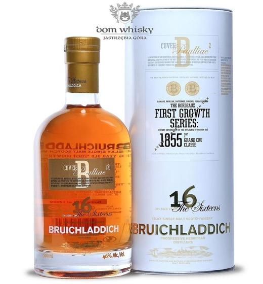 Bruichladdich 16-letni Cuvée B: Paulliac / 46%/ 0,7l