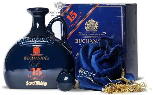 Buchanan's De Luxe 15-letni Ceramic Decanter / 43% / 0,75l