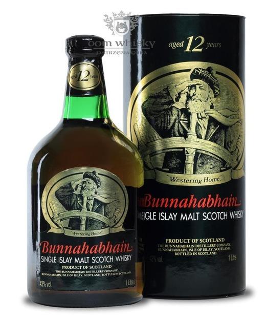 Bunnahabhain 12-letni (Bottled 1990's) / 43% / 1,0l