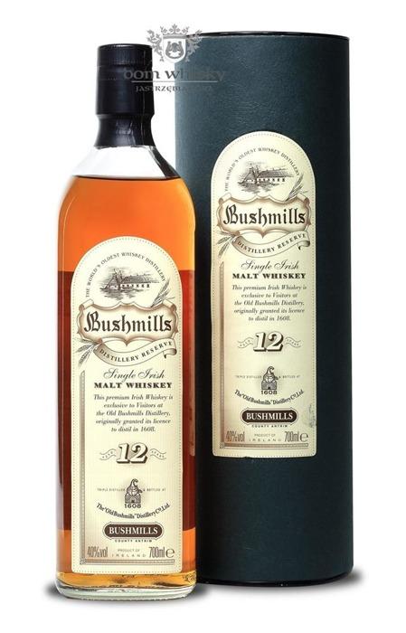 Bushmills 12 letni Single Irish Malt Distillery Reserve / 40% /