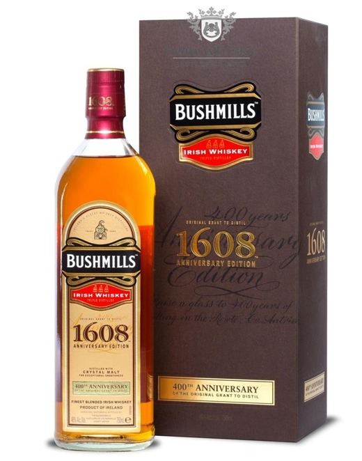 Bushmills 1608, 400th Annivesary / 46% / 0,75l