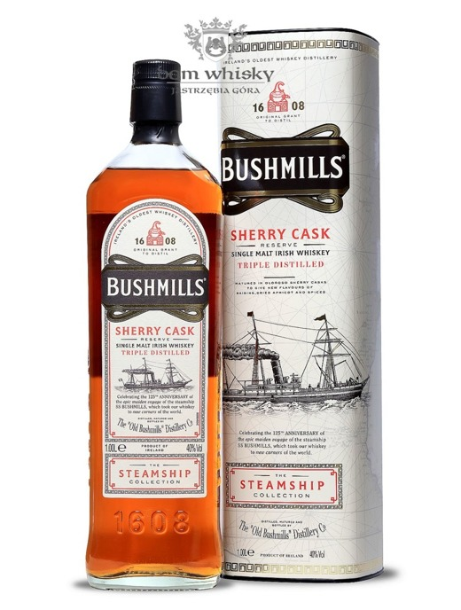Bushmills Sherry Cask Reserve Steamship Collection / 40% / 1,0l