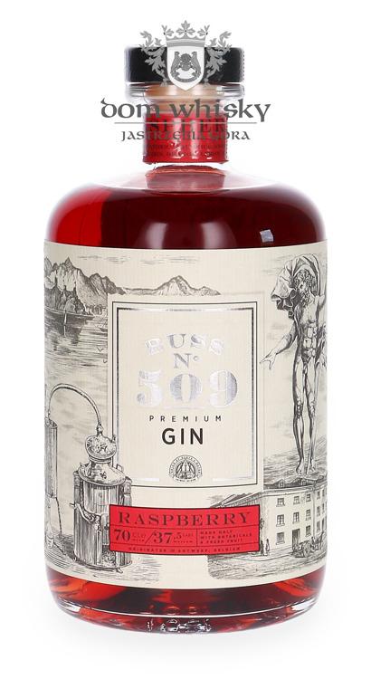 Buss N°509 Raspberry Belgium Flavor Gin / 37,5% / 0,7l