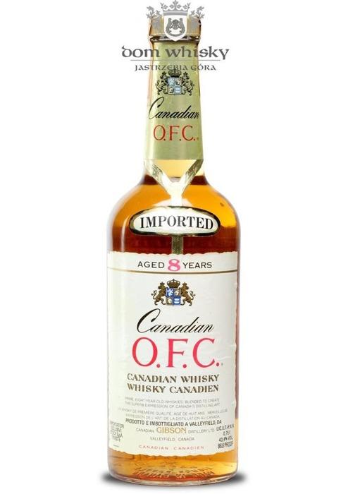 Canadian Club 8-letni, O.F.C. (Bottled 1981) / 43,4% / 0,75l