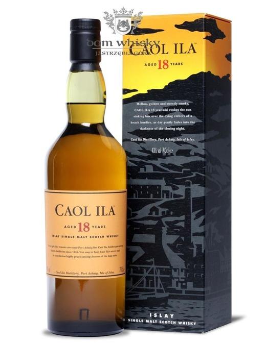 Caol Ila 18-letnia / 43% / 0,7l