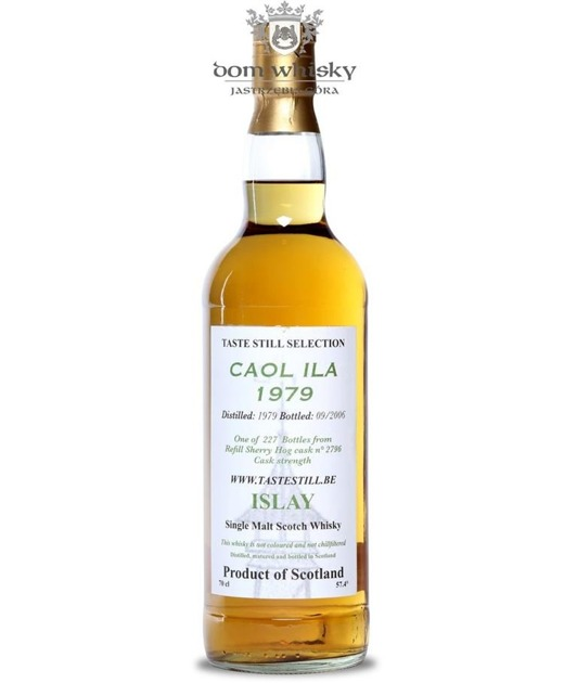 Caol Ila 1979, (B.2006) Taste Still Selection / 57,4% / 0,7l