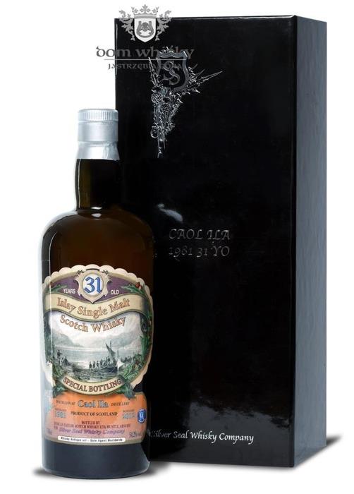 Caol Ila 31-letnia (D.1981, B.2012) Silver Seal / 54,2% / 0,7l