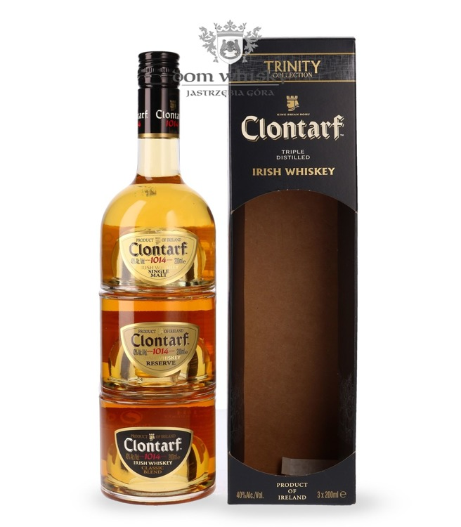 Clontarf 1014 Trinity Single Malt & Reserve & Classic /40%/0,6l