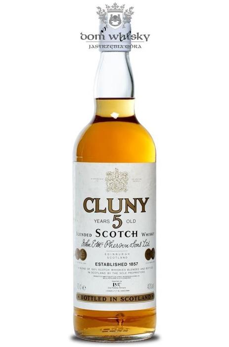 Cluny 5-letni Blended Scotch Whisky / 40% / 0,7l