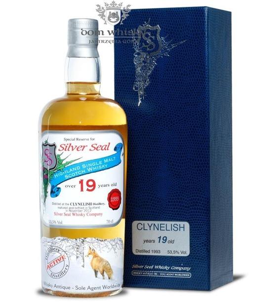 Clynelish 19-letni (D.1993, B.2012) Silver Seal / 53,5% / 0,7l