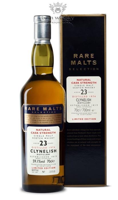 Clynelish 23-letni (D.1974, B.1998) Rare Malts / 59,1% / 0,7l