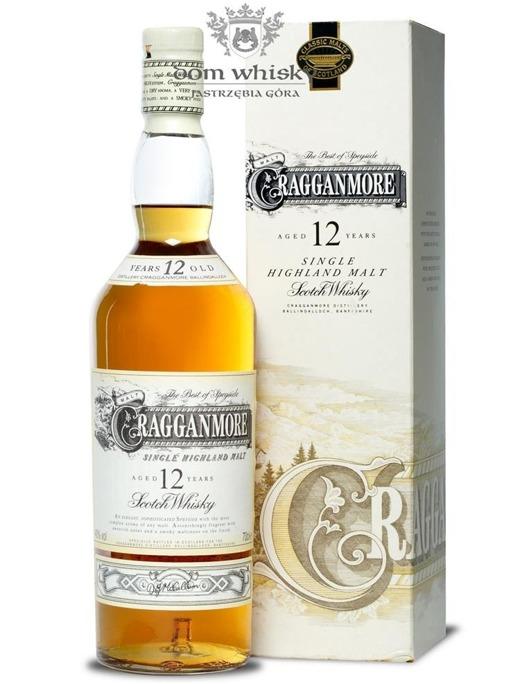 Cragganmore 12-letni (Bottled 1990s)/ 40% / 0,7l