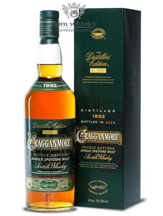 Cragganmore Distillers Edition 1992 (Bottled 2005) / 40% / 0,7l