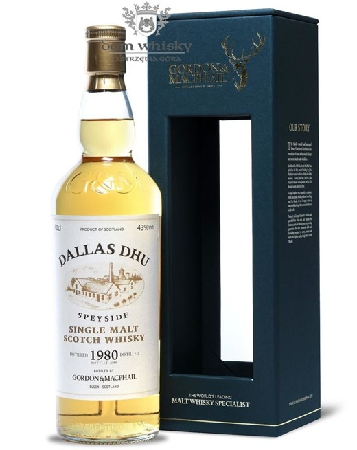 Dallas Dhu 1980 (Bottled 2014) Gordon & MacPhail / 43%/ 0,7l