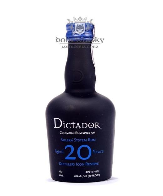 Dictador 20 letni  / 40% / 0,05l