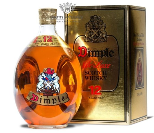 Dimple 12 letni Old Bottle / 43% / 1,0l
