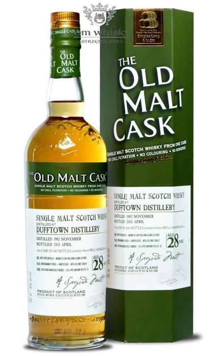 Dufftown 28-letni (D.1982, B.2011) Old Malt Cask / 50% / 0,7l